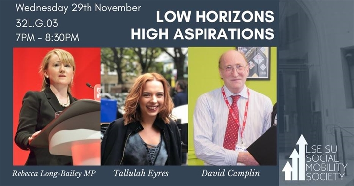 Social Mobility Panel - Low Horizons, High Aspirations