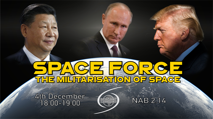 Space Force: Militarisation of Space