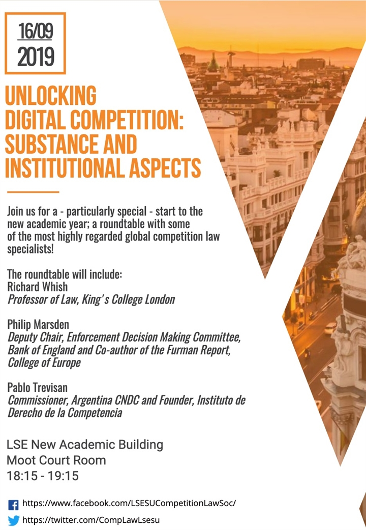 Unlocking Digital Competition: Substance and institutional aspects