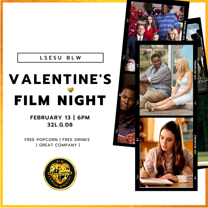BLW Valentines Film Night
