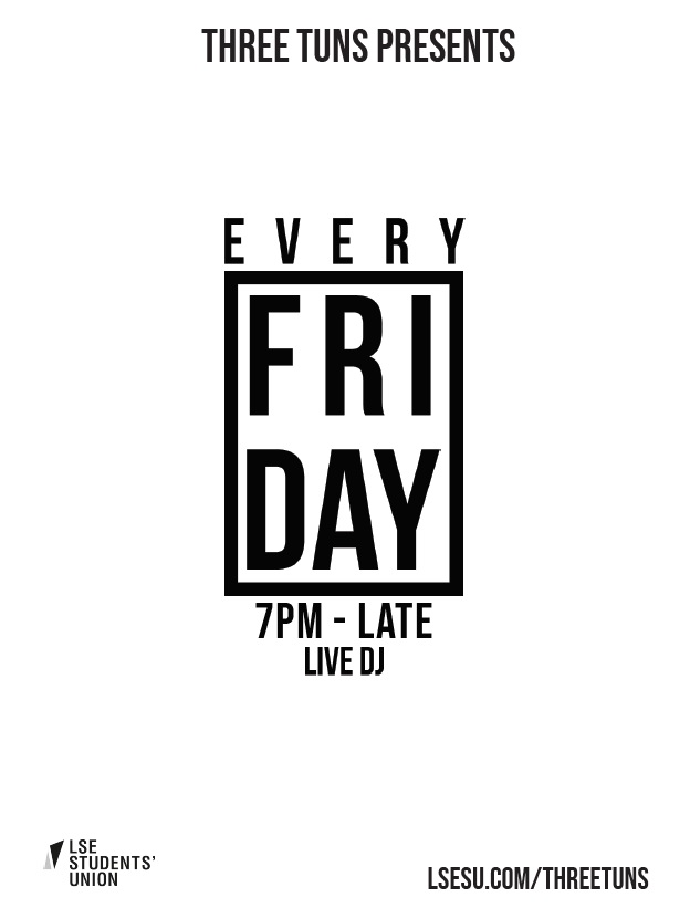 Every Friday @ The Tuns