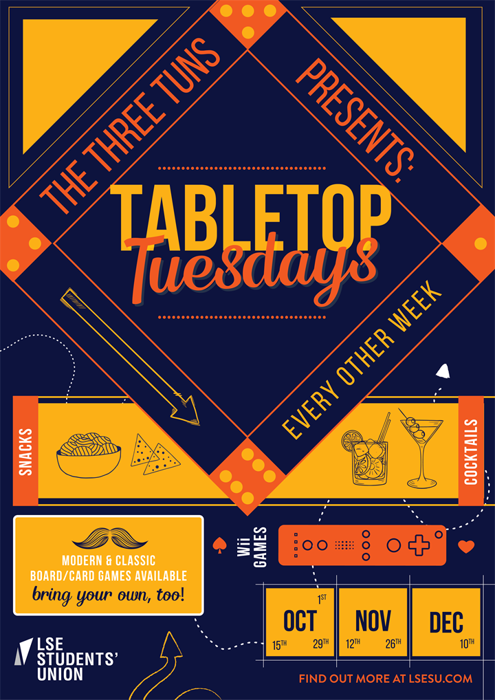 Tabletop Tuesdays @ The Three Tuns