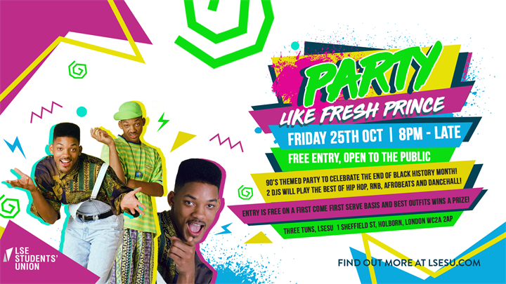 Party Like The Fresh Prince!