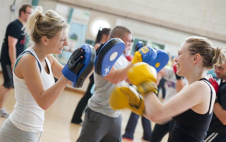 SU Gym Women's Boxercise
