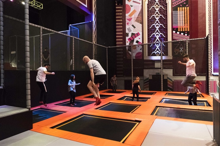 Active Lifestyle: Indoor Trampolining