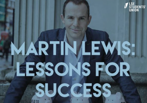 Martin Lewis: Lessons for success