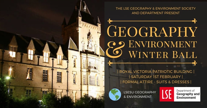 LSE Geography and Environment Winter Ball