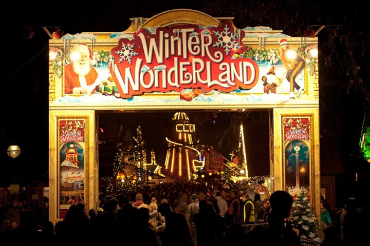 Itchy Feet goes to Winter Wonderland!