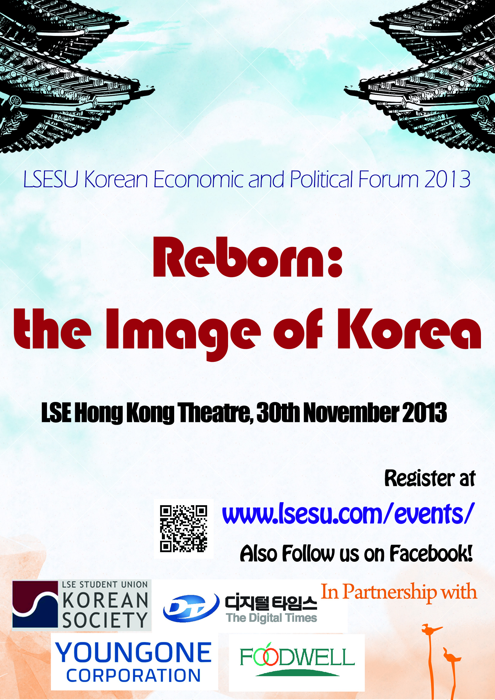 "Korean Economic and Political Forum 2013; ""Reborn: the Image of Korea"""