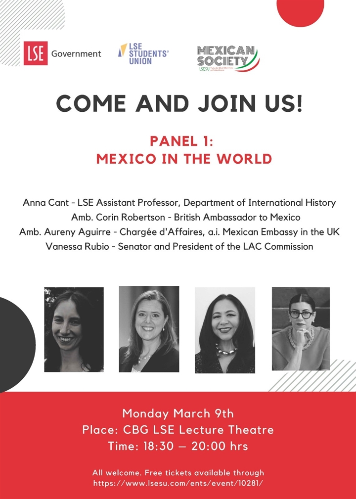 Mexico Week 2020: Panel 1 & Reception
