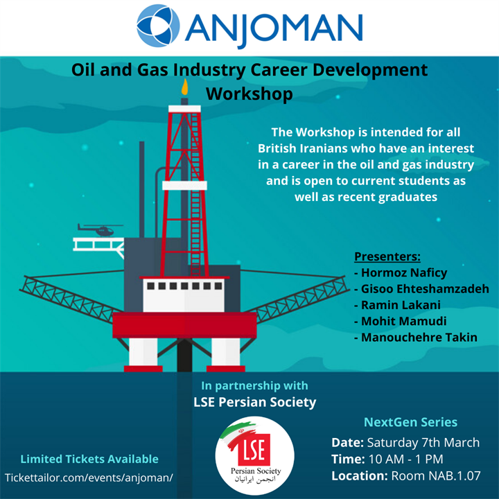 Persian Society: Oil and Gas Workshop