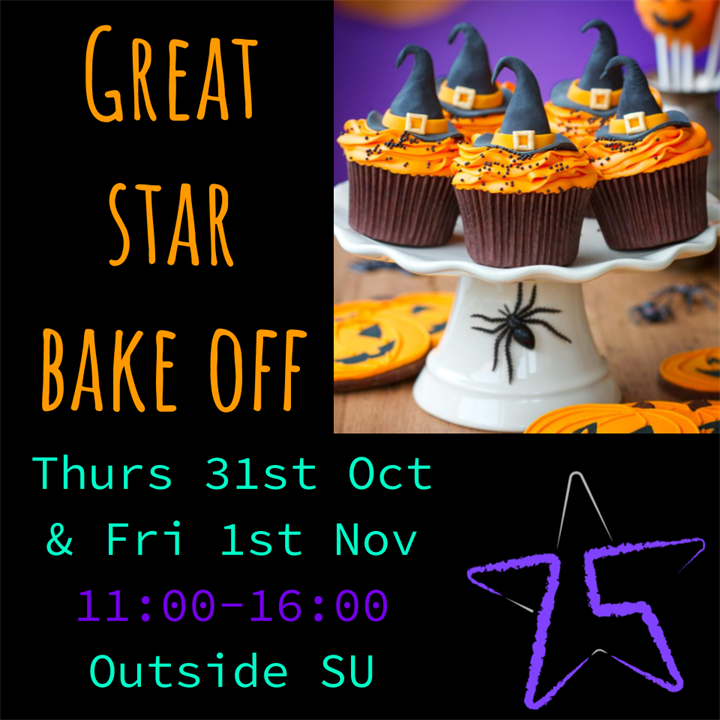 Great STAR Bake Off - Student Action for Refugees (STAR)