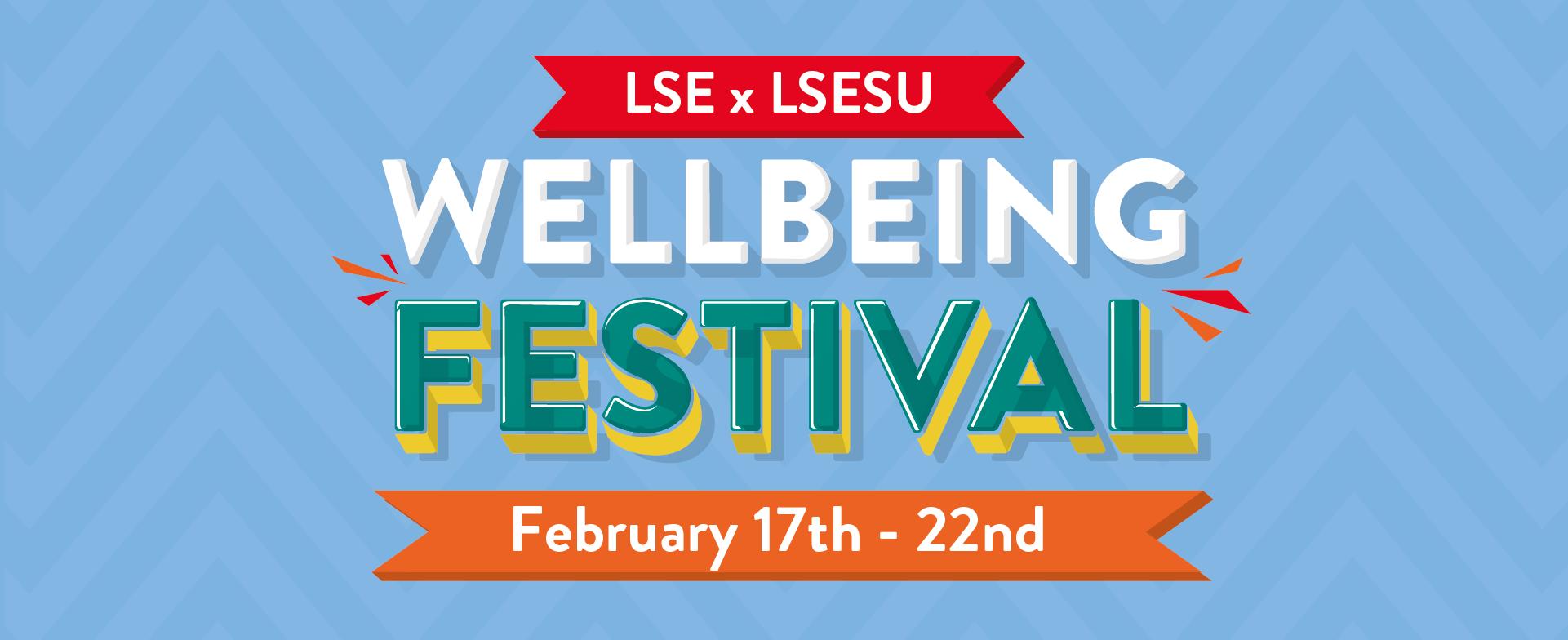 Wellbeing Festival LSExLSESU