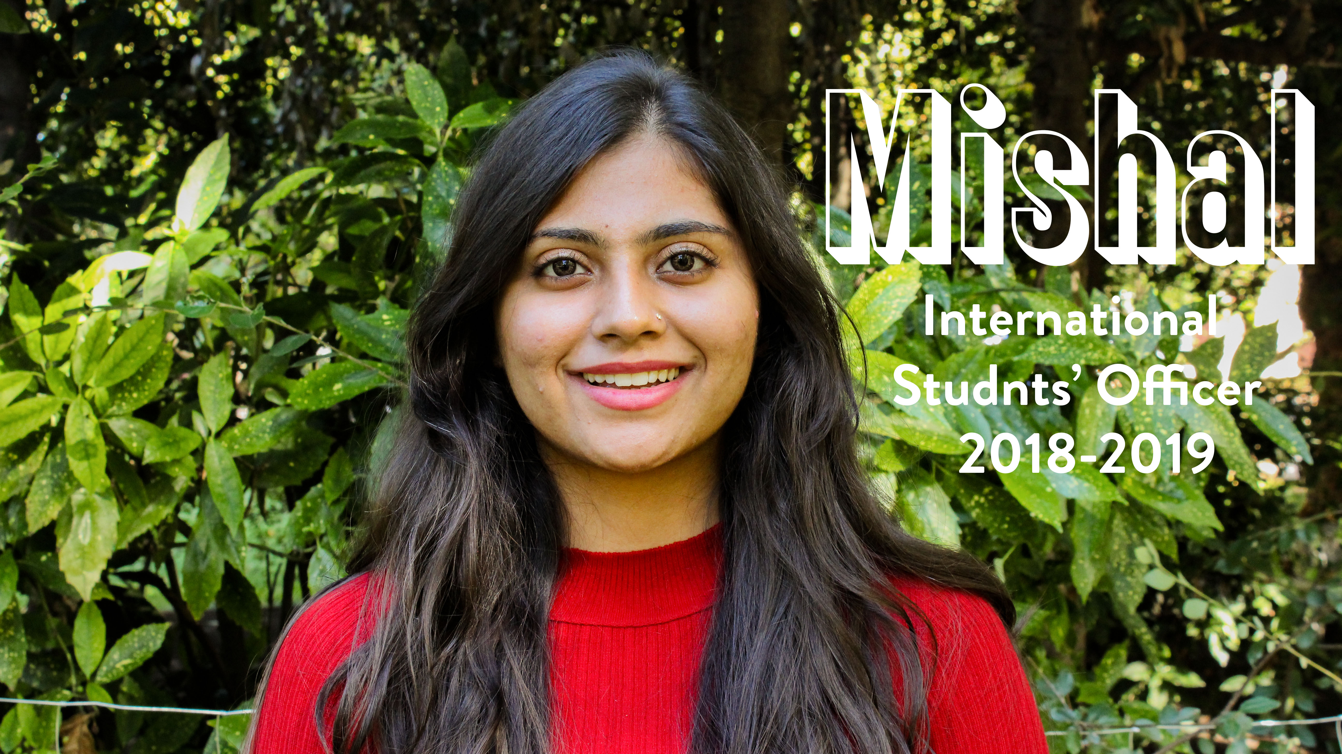Mishal - International Officer