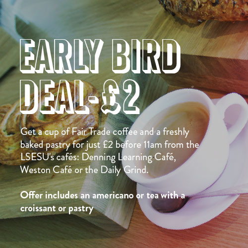Early Bird Deal