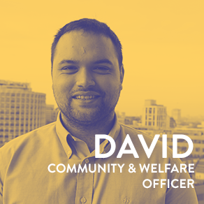 David Community and Welfare Officer